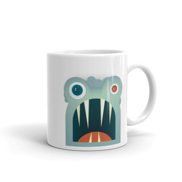 Mr. Toothy Mug