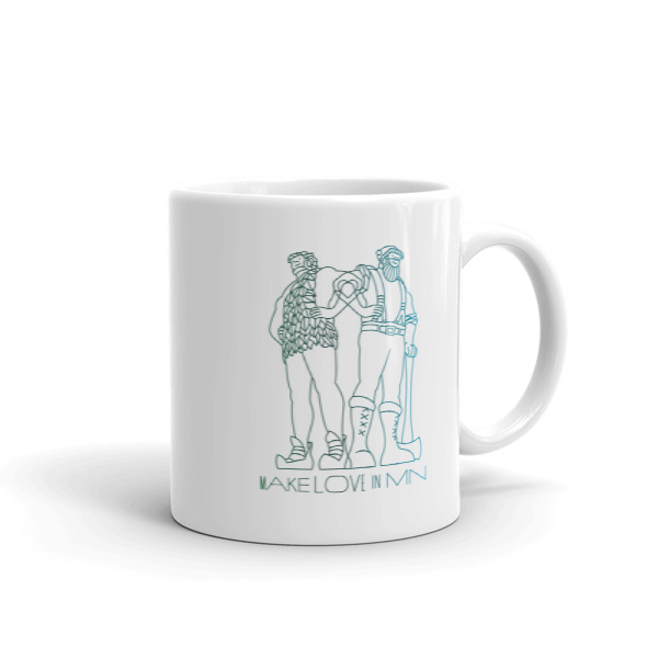 Make Love in MN Mug