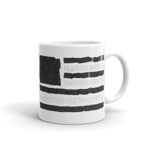 Old Time Hockey Mug Tape Flag