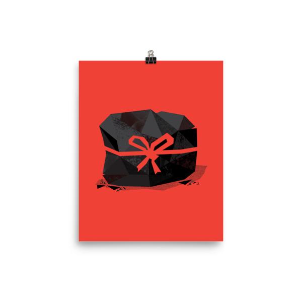 Lump of Coal Poster