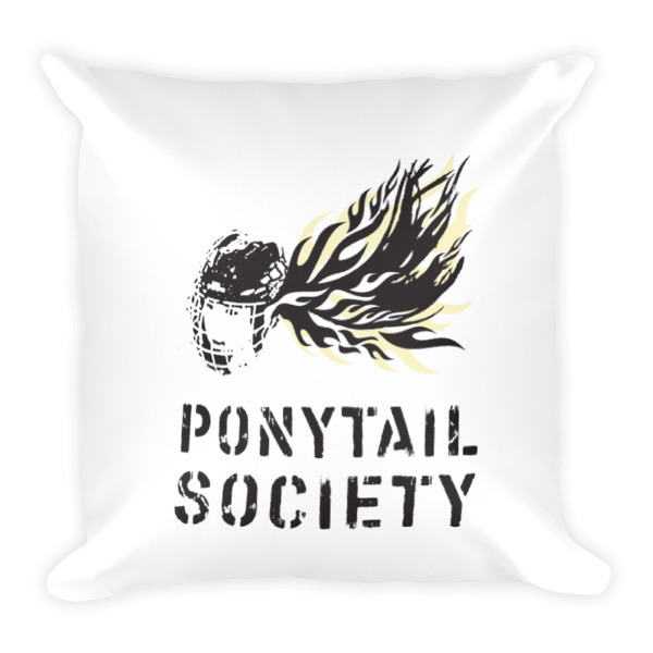 Old Time Hockey Pillow Ponytail Society