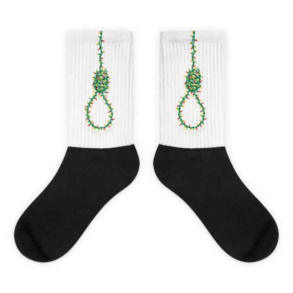 Festive Noose Socks