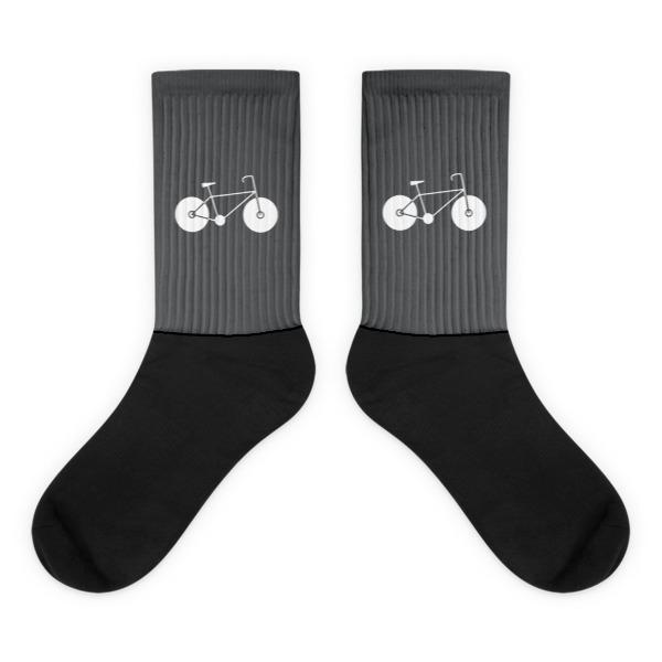 Nokomis Bike Socks Gray