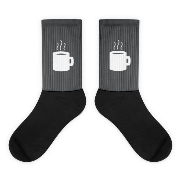 Nokomis Mug Socks Gray