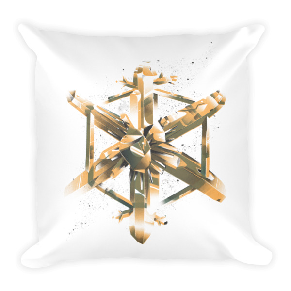 Crystal Flake Pillow