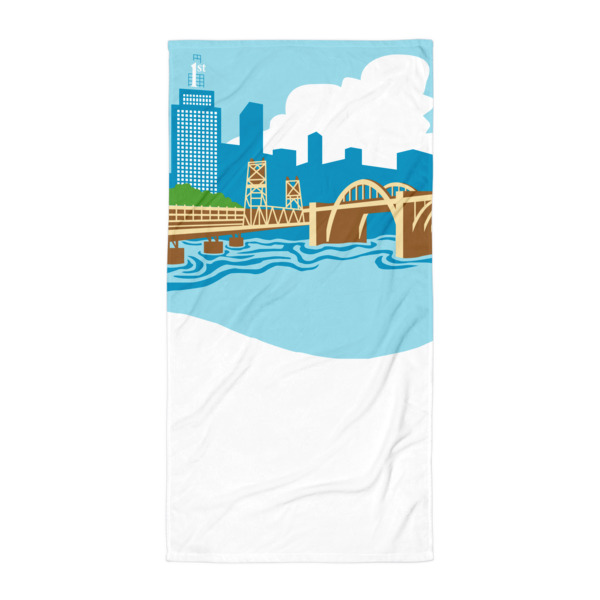 Big River Beach Blanket Robert St. Bridge