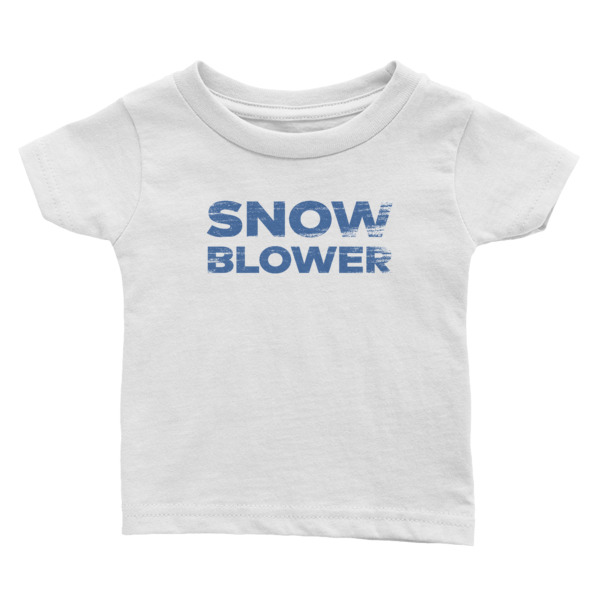 Snowblower Tee Baby Wordmark