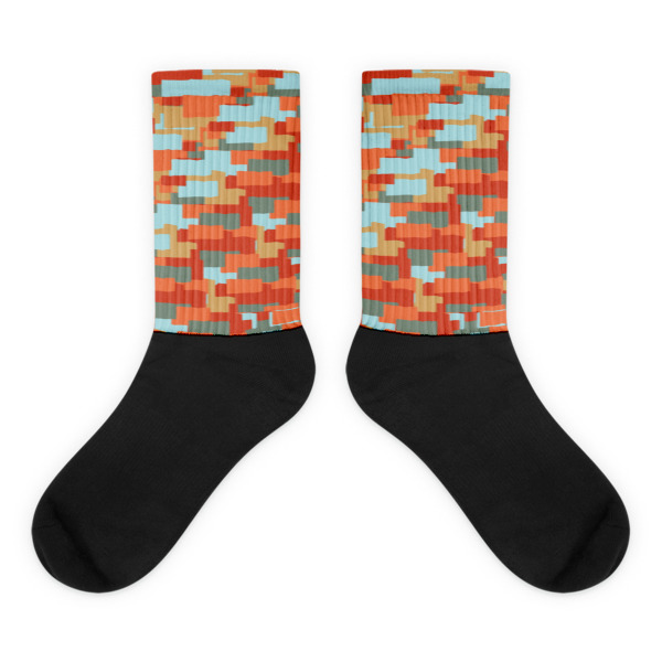Layered Ribbons Socks