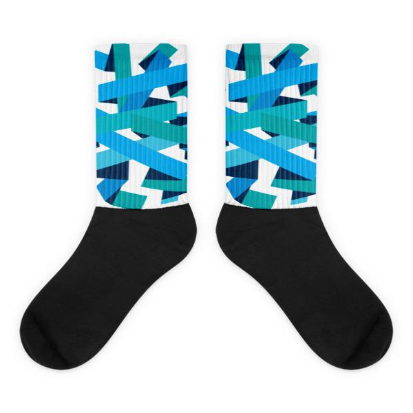 Bold Ribbons Socks