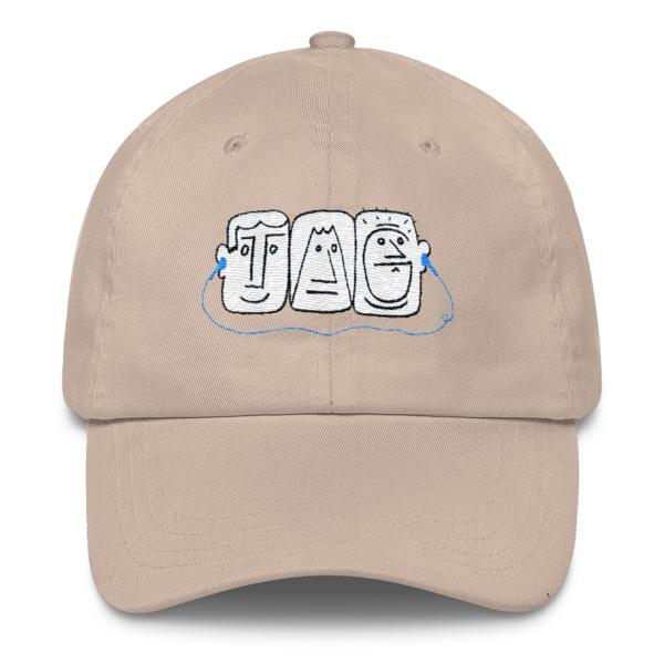 Listen Dude Hat Buckle