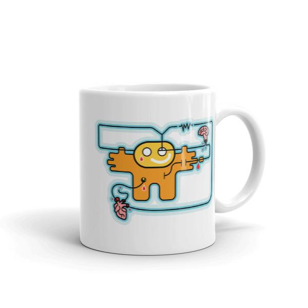 Sad Robot Mug