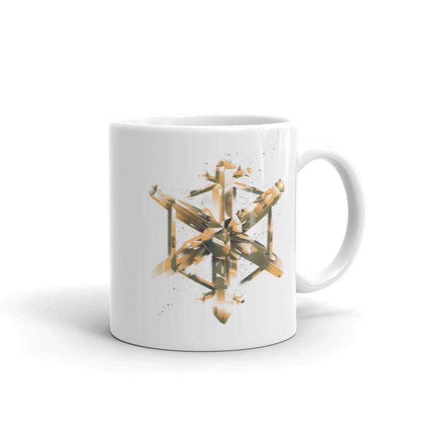 Crystal Flake Mug