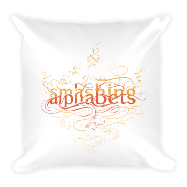 Smashing Alphabets Pillow