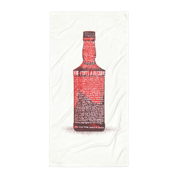 Regular Bottle Beach Blanket