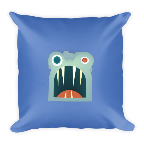 Mr. Toothy Pillow