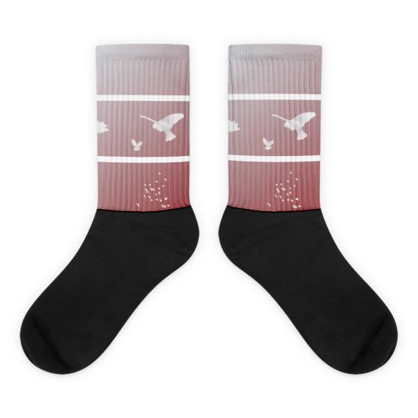 Doves Triptych Socks