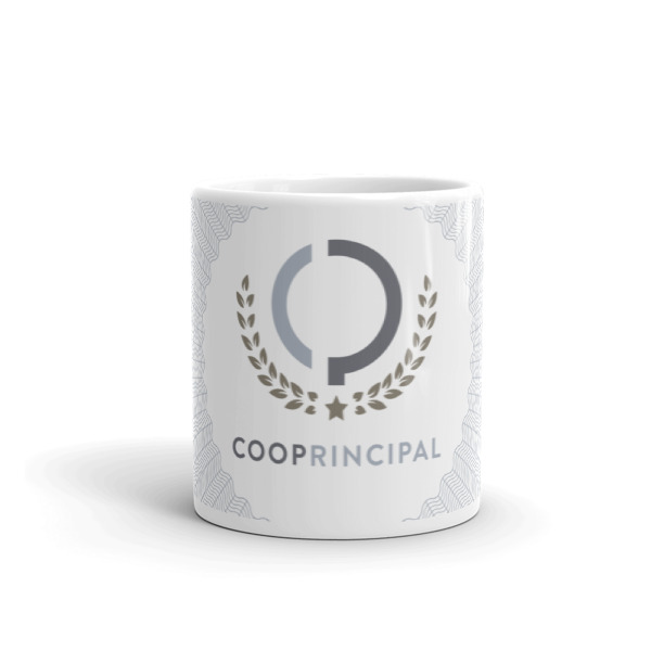 Cooperative Principal Mug Guilloché