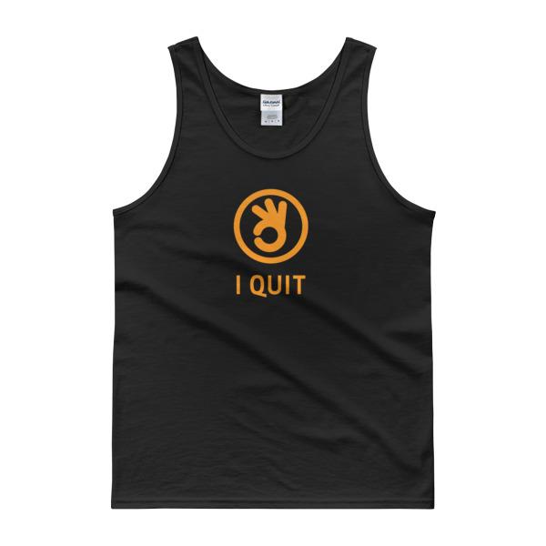 I Quit Tank Orange