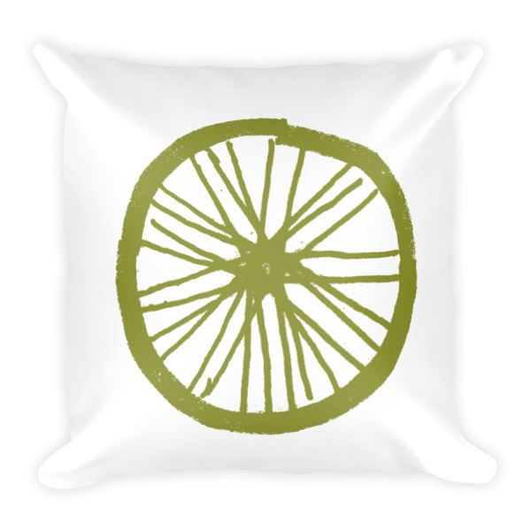 Country Wheel Pillow