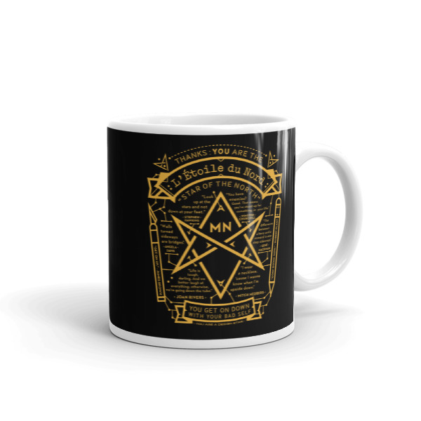 North Star Mug Black