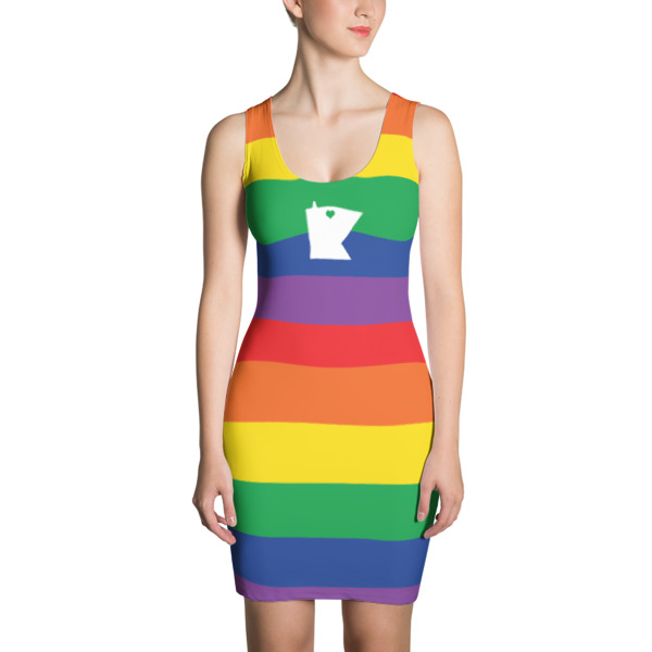 Equal Equals Love Pride Dress
