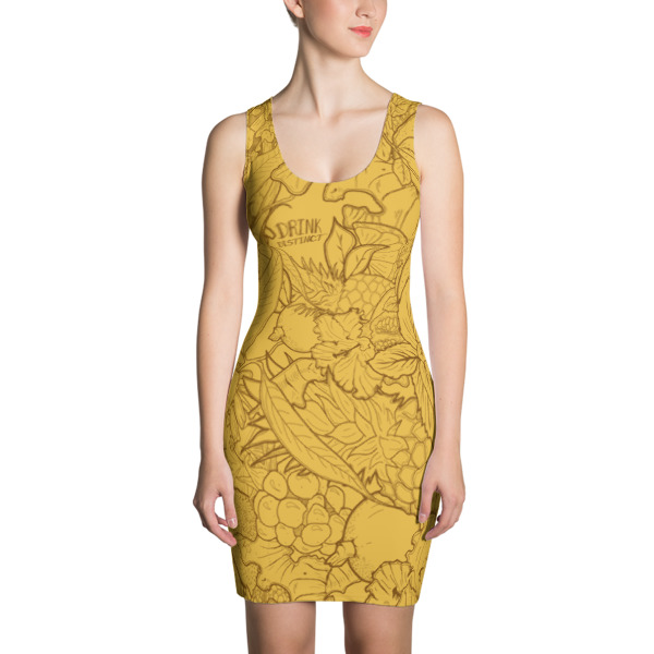 Joia Dress Pineapple