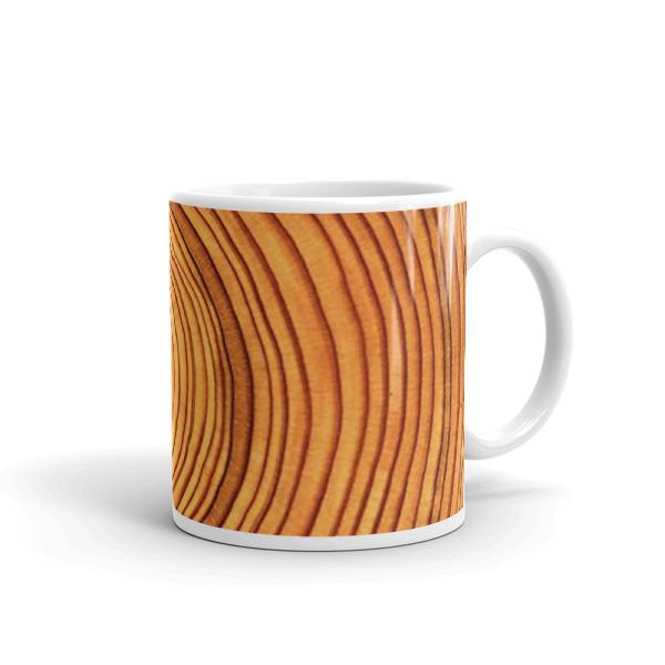 Cabin Cloth Mug Wood