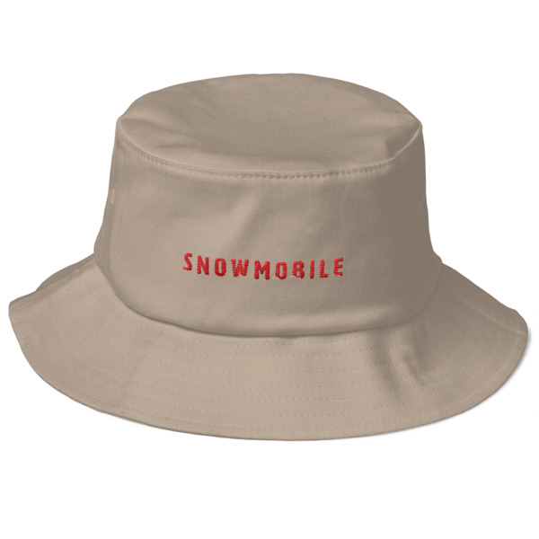Snow Mobile Bucket Hat