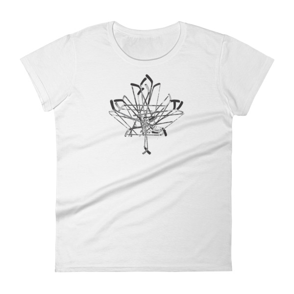 Old Time Hockey Canada Sticks Tee Women