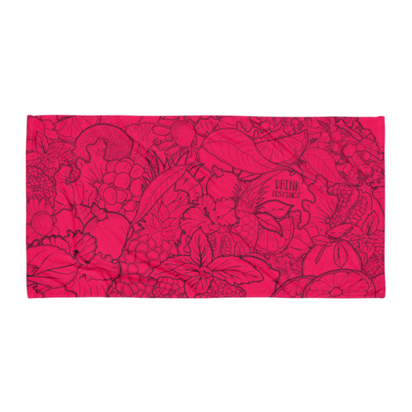 Joia Beach Blanket Pomegranate