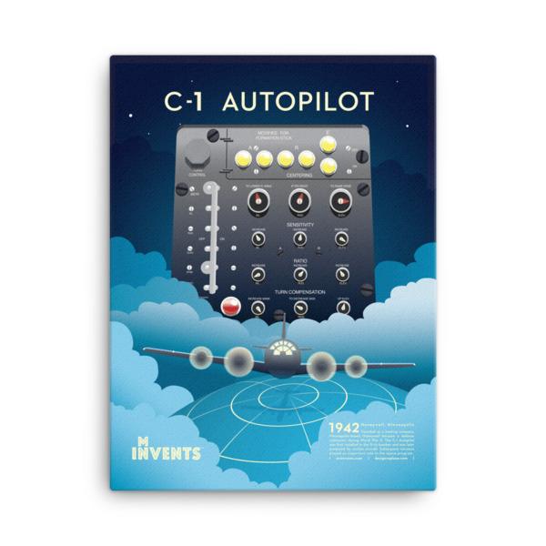 C-1 Autopilot Poster Canvas