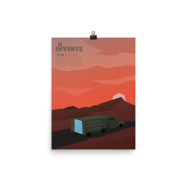 Freight Cooling System Poster