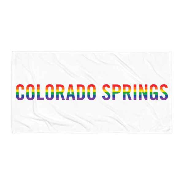 Colorado Springs Pride Beach Blanket
