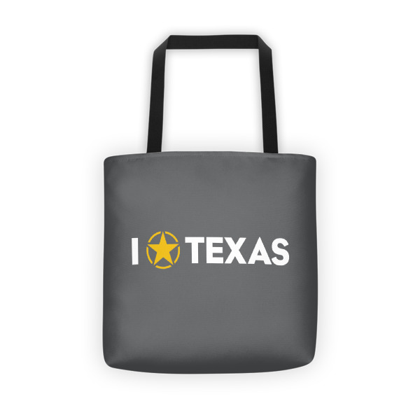 I Lone Star Texas Tote
