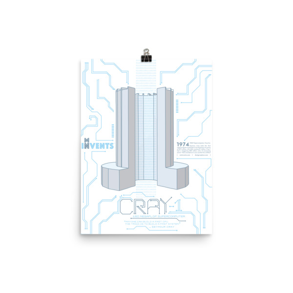 Cray Supercomputer Poster