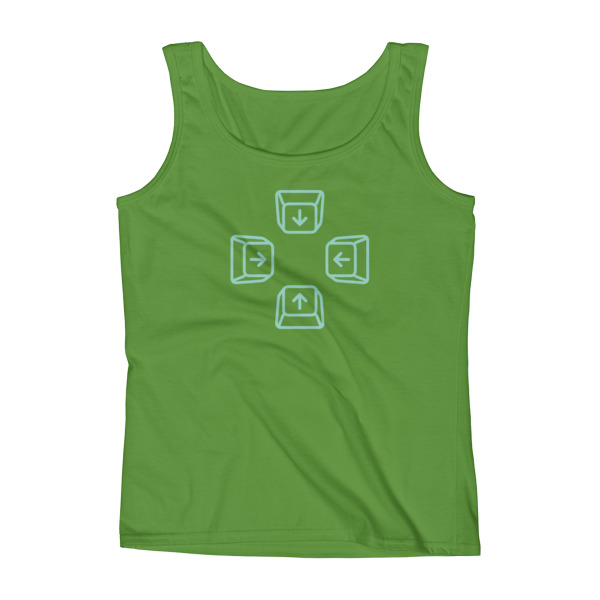 Escape Key Arrows Tank Women