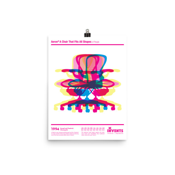 Aeron Chair Poster