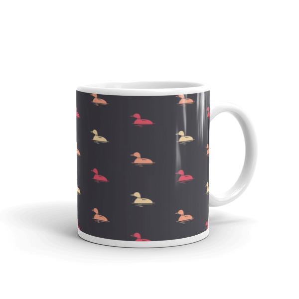Nokomis Loon Pattern 3 Mug