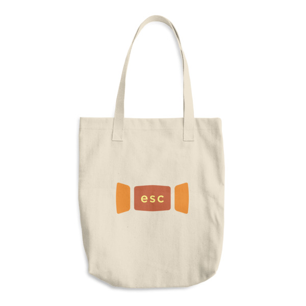 Escape Key Window Tote