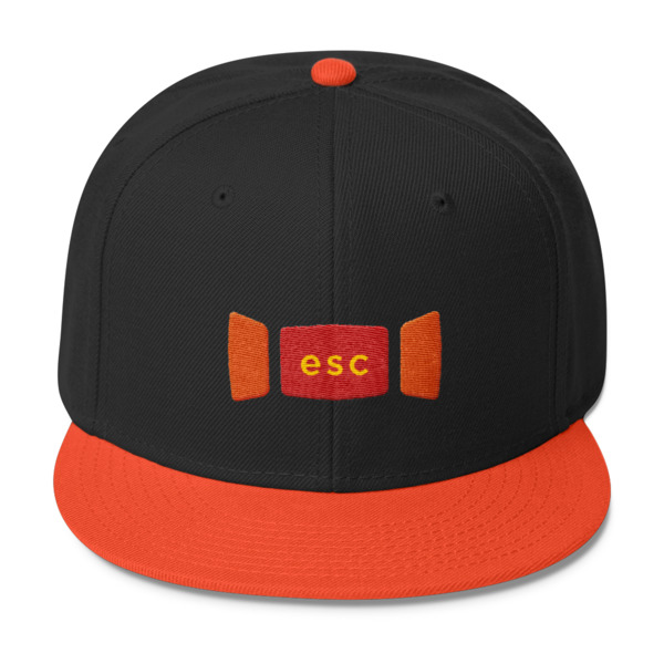 Escape Key Window Hat
