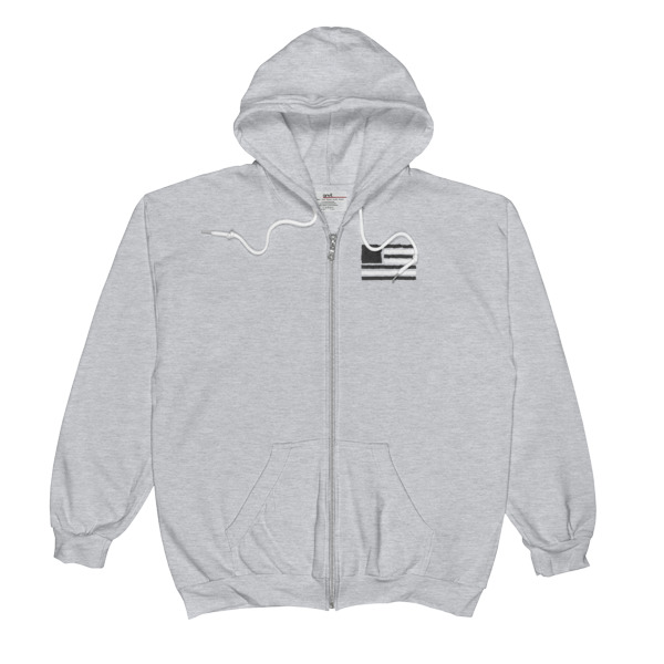 Old Time Hockey Flag Zip-Up