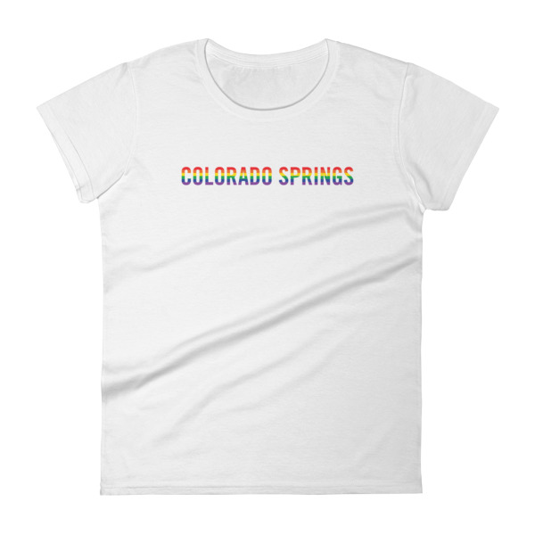Colorado Springs Pride Tee Women