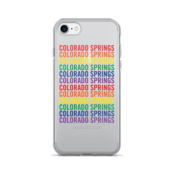 Colorado Springs Pride Pattern Case 7/7+