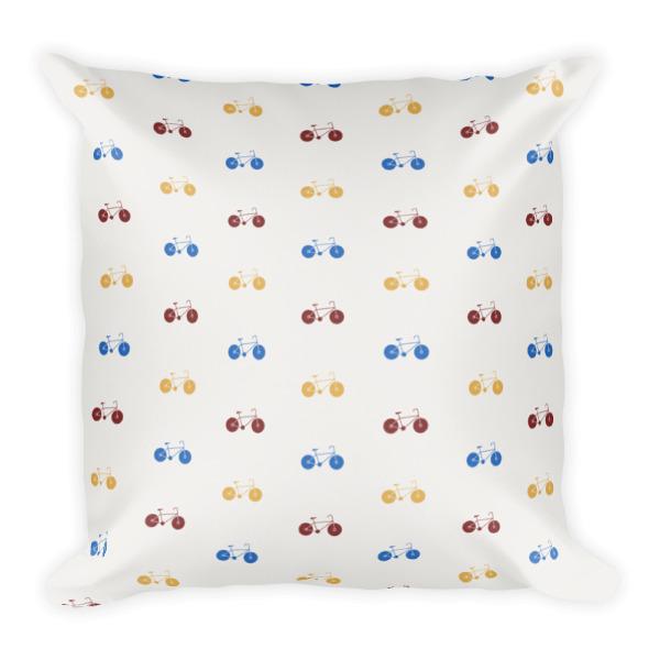 Nokomis Bike Pattern 1 Pillows