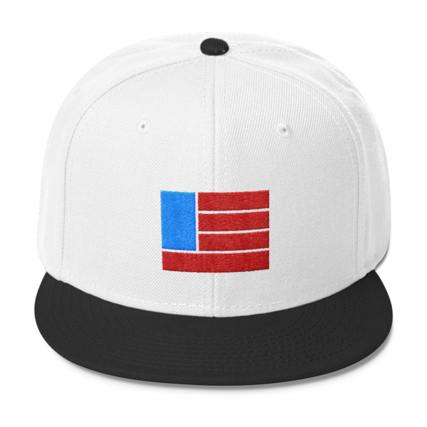 Freedom Fun Flag Snapback Hat