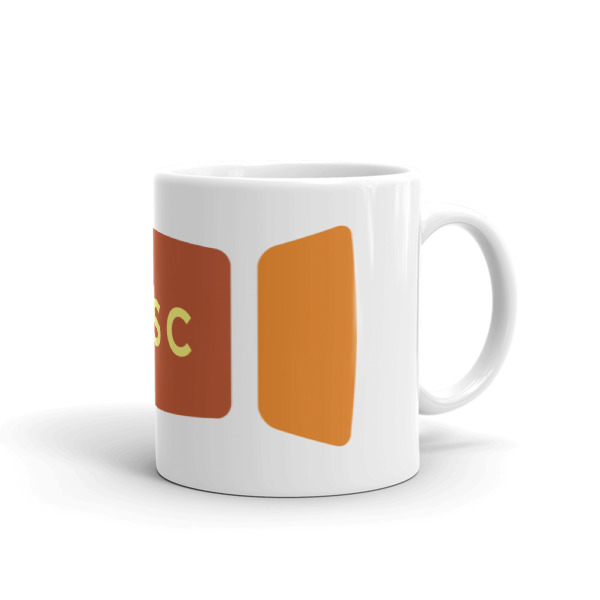 Escape Key Window Mug