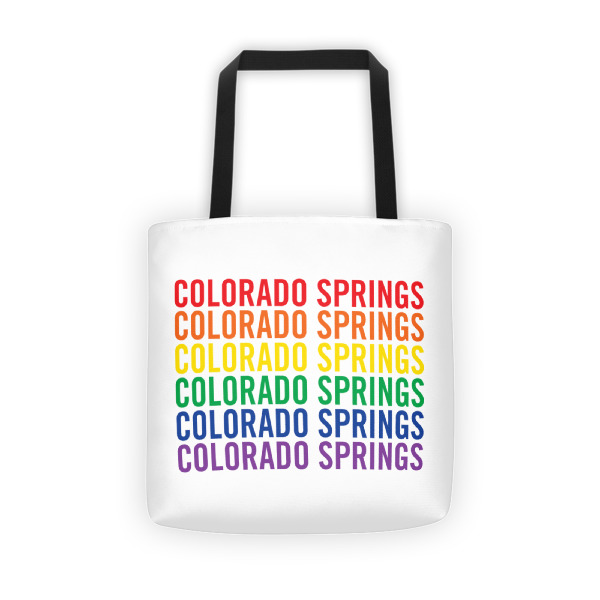 Colorado Springs Pride Tote