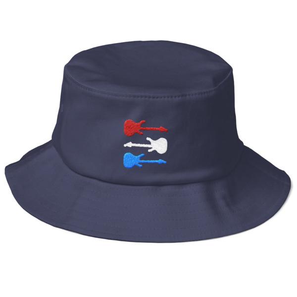 Freedom Fun Guitars Bucket Hat