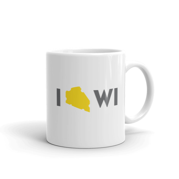 I Cheese Wisconsin Mug