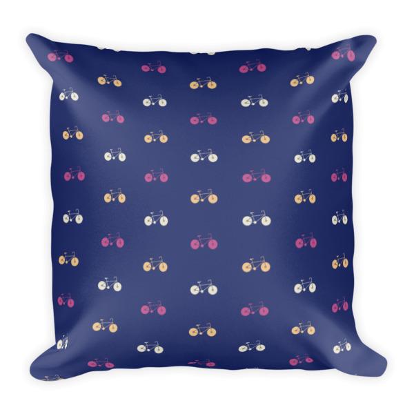 Nokomis Bike Pattern 4 Pillow